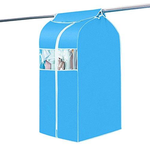 Dexinx maxi antipolvere cover carrier protector borsa copertine impermeabili sacchi per vestiti borse per più serie di indumenti blu 50*58*88cm