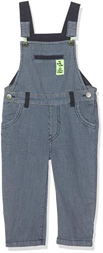 s.Oliver Baby-Jungen Latzhose 65.903.73.3348 Blau (Dark Blue Check AOP 58n2), Herstellergröße: 92/REG