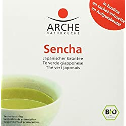 Arche Sencha 10 Beutel a 1,5 g Bio Tee, 4er Pack (4 x 15 g)