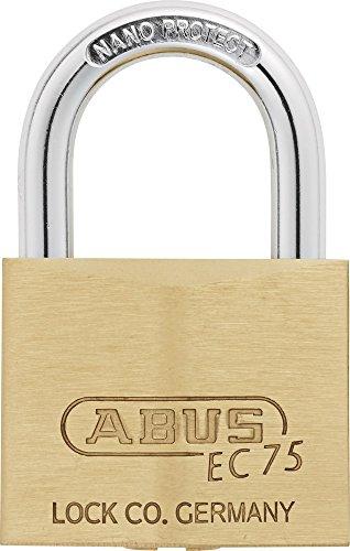 ABUS Messingschloss 75/40, gleichschließend, - 1.875