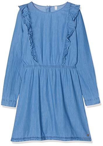 ESPRIT KIDS Mädchen RM3401509 Kleid, Blau (Medium Wash Denim 463), 152 (Herstellergröße:M)