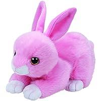 TY 41178–Beanie Babies Walker–Conejo, 15cm, color rosa
