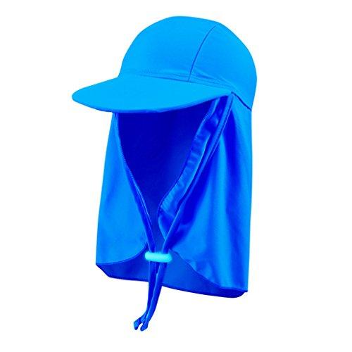 Kinder Sonnenschutz Hüte Schwimmkappe Badekappe - Jungen Sonnenhut Sommerhut Mädchen Bademütze Sonnenschutz Mützen Breite Krempe