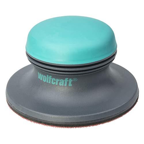Wolfcraft 5894000 1 Flächenschleifer 2K-Plus mit Haftschleifsystem für schnelles Schleifen Ø 125