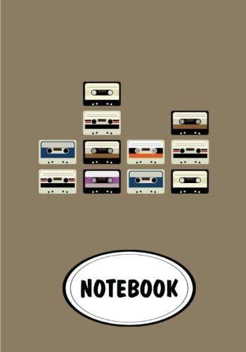 "Notebook: Dot-Grid,Graph Grid,Lined,Blank Paper : Cassette : Journal Diary, 110 pages, 7"" x 10"" (Notebook Journal)"