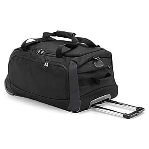Quadra - grand sac de voyage trolley 65 L - QD970 - Wheely travel bag - coloris noir et gris