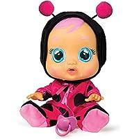 IMC Toys Cry Babies Bebé Piagnucolosi Coccinella, 258