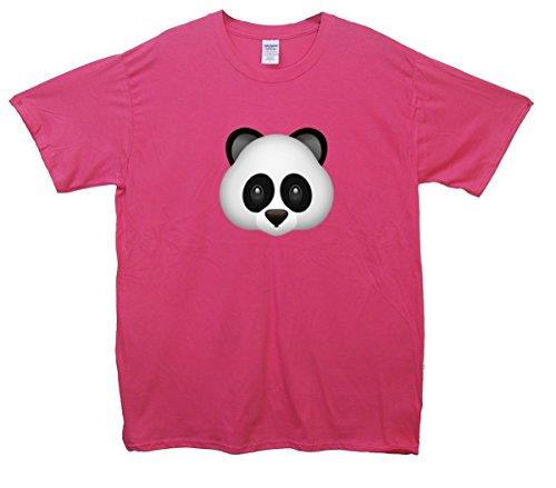 Panda Bear Emoji T-Shirt Rosa