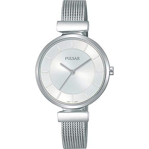 Pulsar ladies orologio Donna Analogico al Al quarzo con cinturino in Acciaio INOX PH8409X1