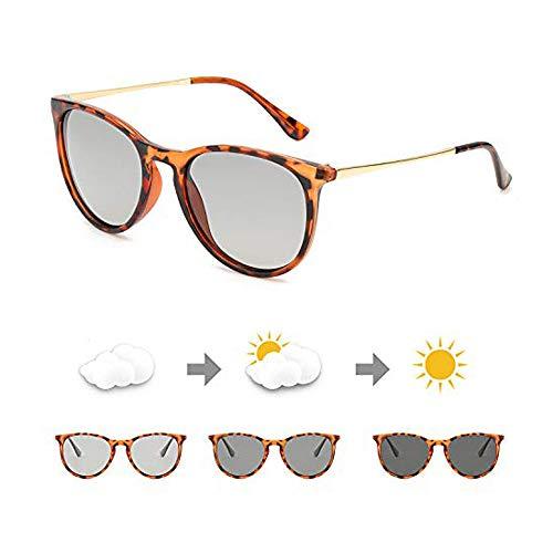 TosGad Gafas De Sol Fotocromaticas Unisex Polarizadas