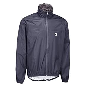 Tenn-Outdoors Men's Lightweight Compact Waterproof Cycling Jacket - Navy, Large/42-44 Inch