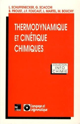 Thermodynamique et cinétique chimiques