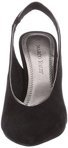 Marco Tozzi 29617, Escarpins-sandales femme Multicolore - Mehrfarbig (Black Comb / 98)