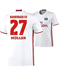 adidas Herren Hamburger SV Heimtrikot Replica
