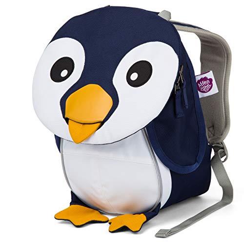 Affenzahn Kinderrucksack für 1-3 Jährige im Kindergarten - Pepe Pinguin - Blau (Bett-tasche Für Mädchen Voll)