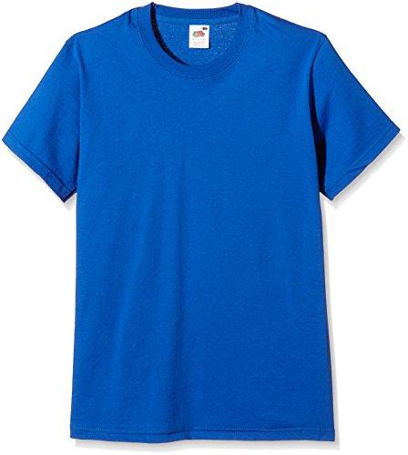 Betende HŠnde auf American Apparel Fine Jersey Shirt Blau (Königsblau)