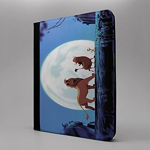 Little Mermaid & Lion King Tablet Flip Schutzhülle für Apple iPad Pro 24,6cm–Simba Abenteuer Timon Pumbaa–s-t1139