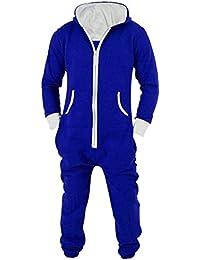 L-Peach Unisexe Pyjamas Combinaison Zippée à Capuche Adulte Jogging Onesie Cosplay  Costume bab45c9ef5f