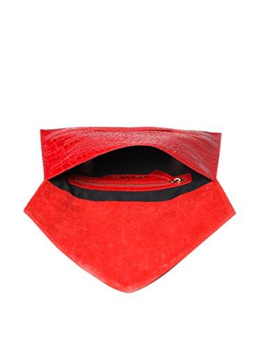 Made In Italia Veronica, Damen Satchel-tasche Rot