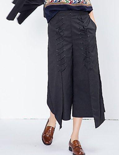 pretty nice 2cf82 47b4c TT KUZI Pantaloni da Donna A Zampa Vintage Vintage Vintage Semplice Cotone  Anelastico, s B0785RYGPL Parent   Portare-resistendo   elegante    acquistare ...