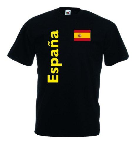Spanien Espana Herren T-Shirt Fan Trikot|s-l