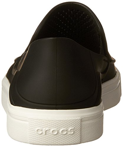 Crocs Damen Citilane Roka Slip-on Sneakers Donna Schwarz (nero)
