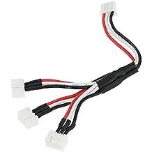 YUNIQUE ESPAGNE® 3 en 1 Cargador Rápido Cables Convertidor 7.4V para Syma X8C, X8W, X8G, MJX X101, X600