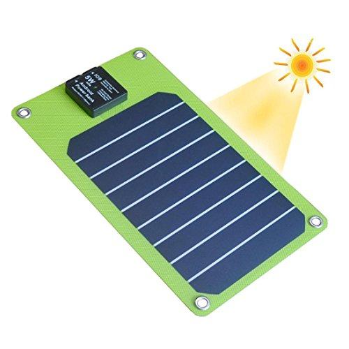 Bescita Faltbare Solarmodul USB-Ausgang 5w wasserdichte Ladegerät Outdoor aufladen