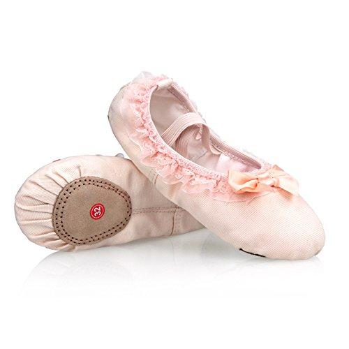 DCL, Scarpe da ballo bambine Pink