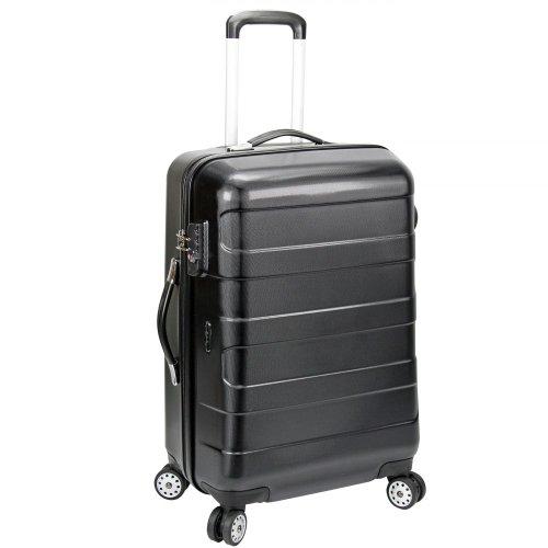 d&n Travel Line 8600 Valise 4 roulettes 61 cm noir