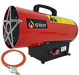 Sridy 15KW 51,180 BTU Industrial Space Gas Heater Propane Butane Gas Heater Portable