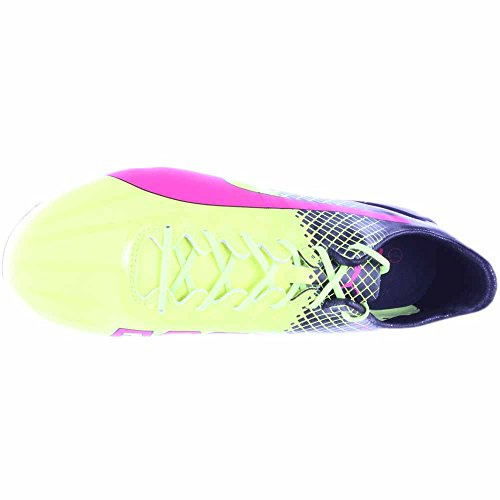 Puma Evospeed 5.4 Fg Jr, Scarpe da calcio uomo 42,5 EU Rosa fluo - giallo - nero (Glo rosa - amarillo-negro de seguridad)