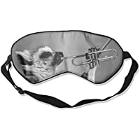 Eye Mask Eyeshade Lemur Play Music Sleep Mask Blindfold Eyepatch Adjustable Head Strap preisvergleich bei billige-tabletten.eu