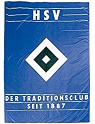 Hissflagge Hamburger SV Tradition - 150 x 200 cm + gratis Aufkleber, Flaggenfritze®