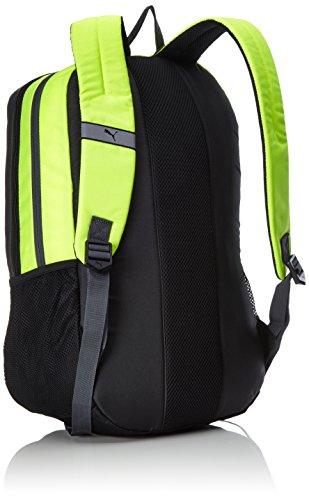 Puma Unisex Deck Backpack Rucksack asphalt-Safety yellow