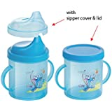 Joyful Hello Baby Sipper Cup With Double Handle,Color May VARY - Any One Color Will Be Supplied, 300 Ml