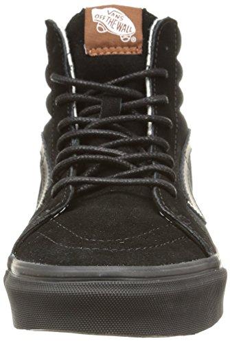 Vans U Sk8-Hi Reissue, Sneakers, Unisex Adulto Nero (T&S/Black/Plus)
