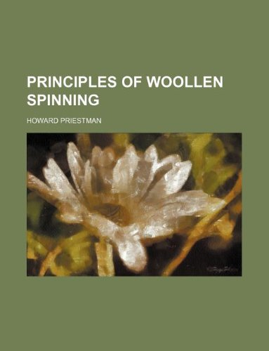 Principles of woollen spinning
