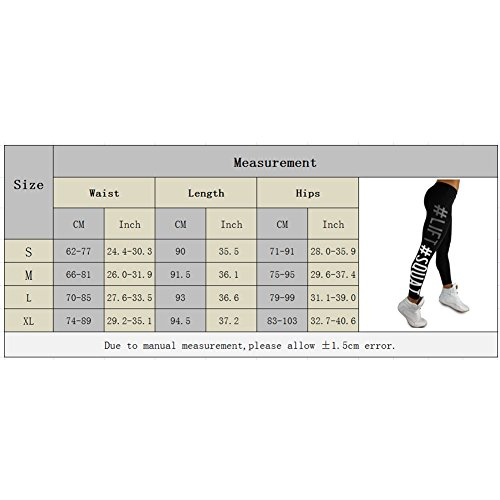 iBaste Sport Imprimé Long Leggings Pantalons Femmes Jogging Gym Fitness Gris