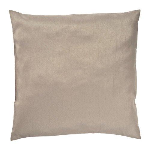 """IKEA Zierkissen / Sofakissen \""""Ullkaktus\"""" Kissen in 50 x 50 cm - 300gr Füllung - formstabil - seidig-glänzender Bezug - beige"""