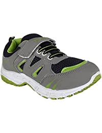 FUEL Kid's Girls & Boys Pink Green Stylish Comfortable & Soft Sports Shoes