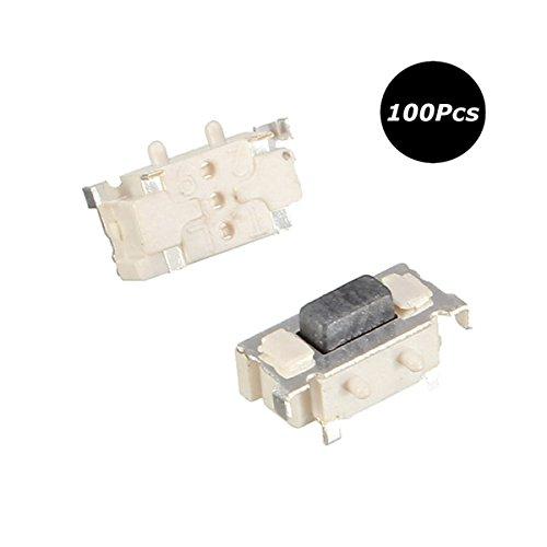 LaDicha 100 Pcs 3X6X3.5 Mm Tactile Tactile Bouton-Poussoir SMD