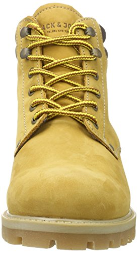 JACK & JONES Jfwstoke Nubuck Boot Honey, Stivali Classici Uomo Giallo (Honey)