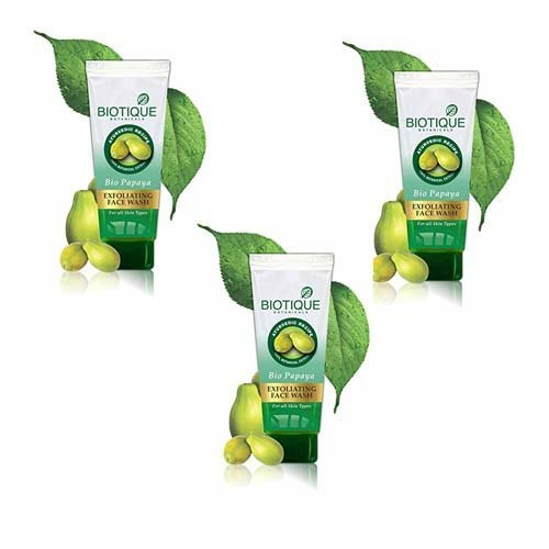 Biotique Bio Papaya Face Wash (100ML, Pack of 3)