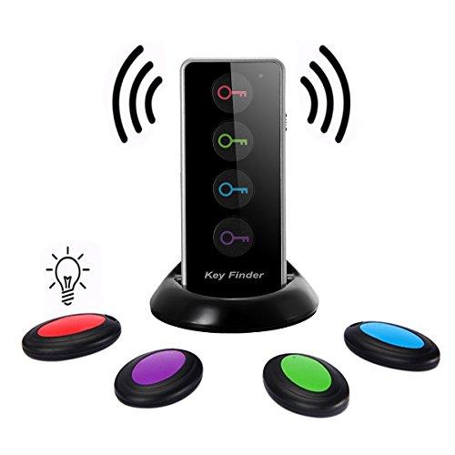 wireless-key-finder-eivotor-key-tracker-with-led-flashlight-anti-lost-alarm-reminder-key-with-1-kit-