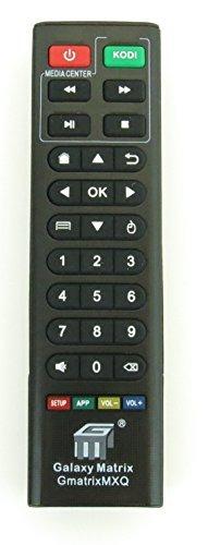 nettech Ersatz-Fernbedienung Controller für MXQ, M8, MXQ Pro, t95m, T95N Android Smart TV Box Kodi IPTV Media Player