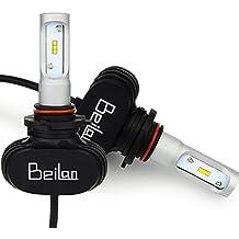 HB3 9005 lámparas LED bombillas Kit 8000LM Super Bright 6500K bombillas de reemplazo de luz blanca Reemplazar para bombillas halógenas o HID (paquete de 2)