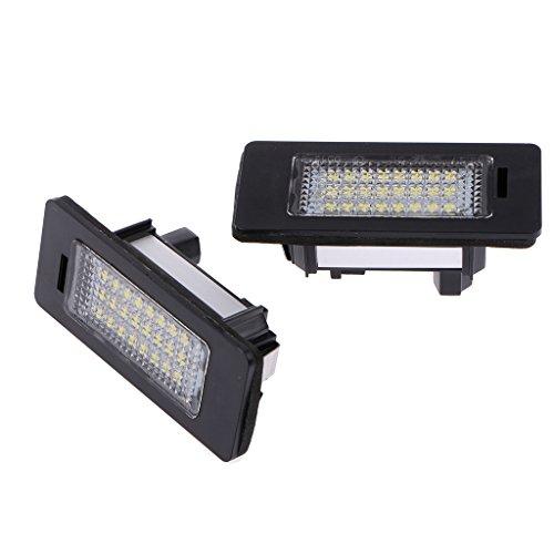 Coppia-Di-24-LED-Licenza-Della-Lampada-Luce-Targa-Per-BMW-E39-E60-E70-E82-E90-E92-F30