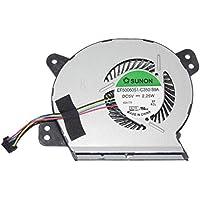 Sunon ef50060s1-c350-s9a 5V 2,25W 4Cable para Asus x402m E402MA E502MA CPU Cooler Ventilador