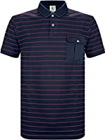 Lyle and Scott Heritage Fine Stripe Polo Top